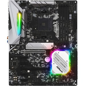 ASRock AMD Ryzen AM4 対応 B450 チップセット搭載 ATX マザーボード B...