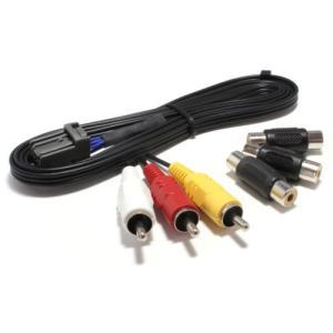 VXM-142VFi(ホンダ ギャザズナビ)用(VTR入力アダプター/1.5m) 地デジ・DVD・音楽プレーヤー接続などに