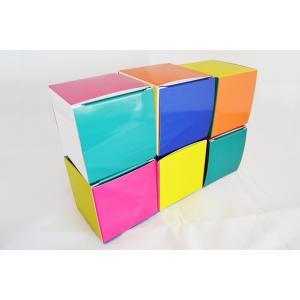 リュッシャーキューブ6個セット組立式(紙製)|planet-co-ltd