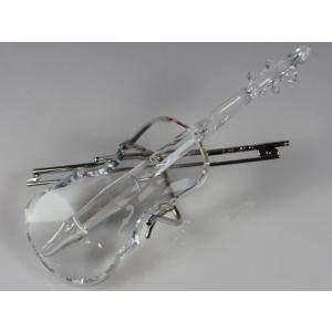 スワロフスキー Swarovski 2004年 廃盤品 『バイオリン スタンド付き』 203056