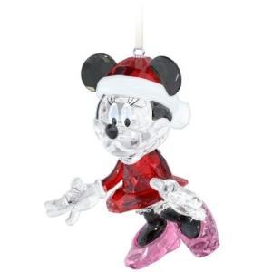 スワロフスキー Swarovski 『Disney - ミニーマウス クリスマスオーナメント』 5004687
