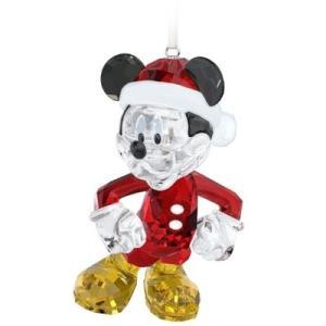 スワロフスキー Swarovski 『Disney - ミッキーマウス クリスマスオーナメント』 5004690