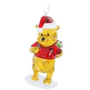 スワロフスキー Swarovski 『Disney - くまのプーさん クリスマスオーナメント』 5030561