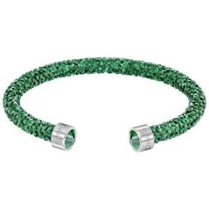 スワロフスキー Swarovski 『Crystaldust カフ, Green, M』 5273637