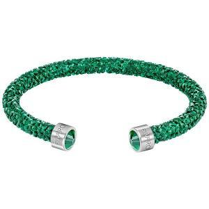 スワロフスキー Swarovski 『Crystaldust カフ, Green, S』 5292919