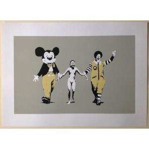 Banksy バンクシー NAPALM WCP SCREEN PRINT シルクスクリーン プリント...