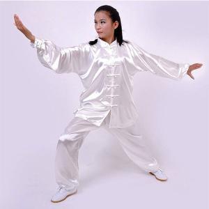 太極拳 服 カンフー 服 太極拳 ウェア カンフー 衣装 表演服 武術 演出服 練習用 太極拳 上下セット 男女兼用