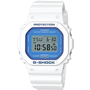 【当店1年保証】カシオCasio G-Shock DW5600WB-7 WHITE AND BLUE SERIES Watch Square Ana-Digi Tough Resin