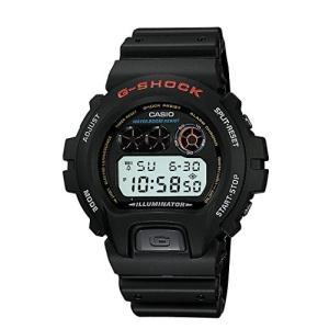 【当店1年保証】カシオCasio Men's DW-6900-1VQ G-Shock Black Resin Digital Dial Watch