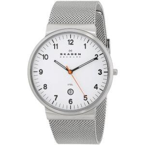 当店1年保証 スカーゲンSKAGEN Klassik Mens Three-Hand Date Stainless Steel Watch|planetdream