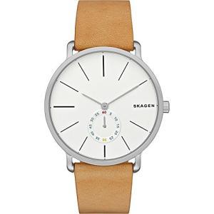 当店1年保証 スカーゲンSkagen Men's SKW6215 Hagen Light Brown Leather Watch|planetdream