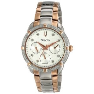 当店1年保証 ブローバBulova Women's 98R177 Multi-Function Dial Watch|planetdream