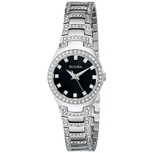 当店1年保証 ブローバBulova Women's 96L170 Crystal Bracelet Watch|planetdream