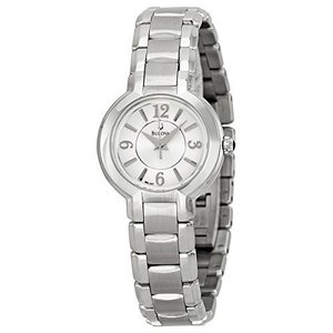 当店1年保証 ブローバBulova Women's 96L147 Dress Classic Round Stainless Steel Watch|planetdream