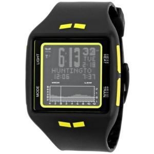 当店1年保証 ベスタルVestal Unisex BRG018 Brig Tide & Train Digital Display Quartz Black Watch|planetdream
