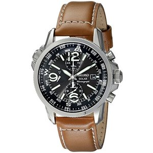 当店1年保証 セイコーSeiko Men's SSC081 Adventure-Solar Classic Casual Watch|planetdream