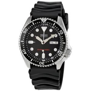 当店1年保証 セイコーSeiko Men's Automatic Analogue Watch with Rubber Strap SKX007K planetdream