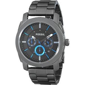 当店1年保証 フォッシルFossil Men's Machine Quartz Stainless Steel Chronograph Watch, Color: Grey (Model: FS4931)|planetdream