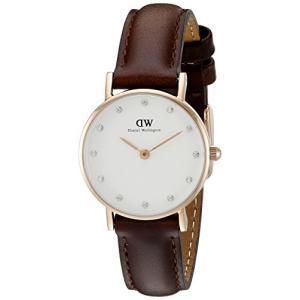当店1年保証 ダニエルウェリントンDaniel Wellington Women's 0903DW Bristol Rose Gold-Tone Stainless Steel Watch wit|planetdream