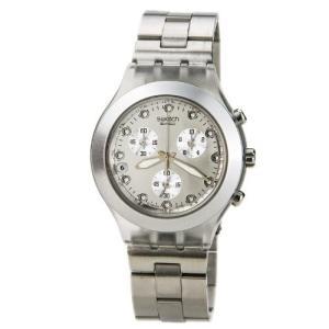 当店1年保証 スウォッチSwatch Diaphane Chronograph Blooded Silver Mens Watch SVCK4038G|planetdream
