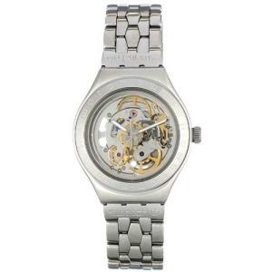 当店1年保証 スウォッチSwatch Men's YAS100G Automatic See Through Dial Crystal Watch|planetdream