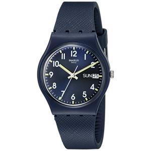 当店1年保証 スウォッチSwatch Unisex GN718 Originals Navy Blue Watch|planetdream