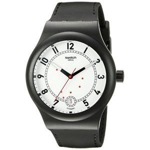 当店1年保証 スウォッチSwatch Unisex SUTB402 Originals Analog Display Swiss Automatic Black Watch|planetdream