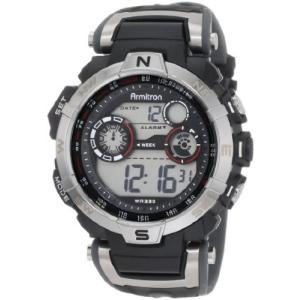当店1年保証 アーミトロンArmitron Sport Men's 408231RDGY Digital Watch|planetdream