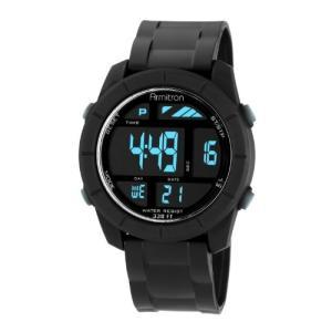 当店1年保証 アーミトロンArmitron Sport Men's 40/8253BLK Digital Watch|planetdream