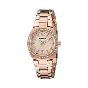 当店1年保証 フォッシルFossil Women's AM4508 Serena Rose Gold-Tone Stainless Steel Watch|planetdream