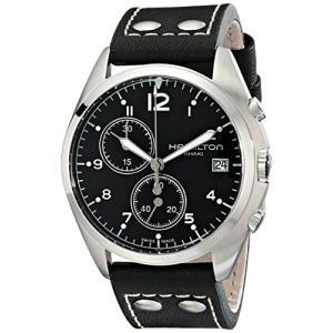 当店1年保証 ハミルトンHamilton Men's H76512733 Khaki Aviation Analog Display Swiss Quartz Black Watch|planetdream