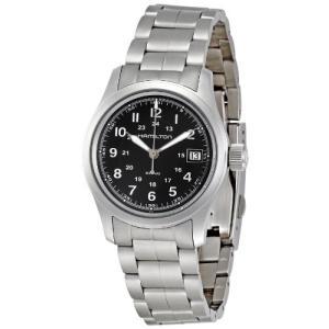 当店1年保証 ハミルトンHamilton Men's H68311133 Khaki Black Dial Watch|planetdream