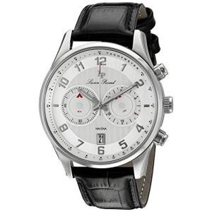当店1年保証 ルシアンピカールLucien Piccard Men's LP-11187-02S Navona Analog Display Quartz Black Watch planetdream