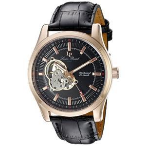 当店1年保証 ルシアンピカールLucien Piccard Men's LP-40006M-RG-01 Morgana Rose Gold-Tone Hand-Wind Watch with Black planetdream
