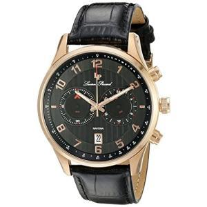 当店1年保証 ルシアンピカールLucien Piccard Men's LP-11187-RG-01 Navona Rose Gold-Tone Stainless Steel Watch planetdream