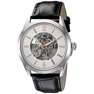 当店1年保証 ルシアンピカールLucien Piccard Men's LP-10660A-02S-RA Loft Stainless Steel Automatic Watch with Black L planetdream