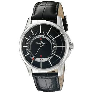 当店1年保証 ルシアンピカールLucien Piccard Men's LP-40024-01 Vertigo Analog Display Japanese Quartz Black Watch planetdream