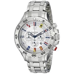 当店1年保証 ノーティカNautica Men's N20503G NST Stainless Steel Watch|planetdream