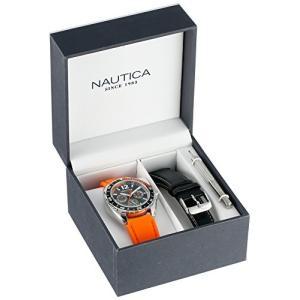当店1年保証 ノーティカNautica Unisex N09908G Sport Ring Multifunction Stainless Steel Watch With Two Interchangable Ba|planetdream