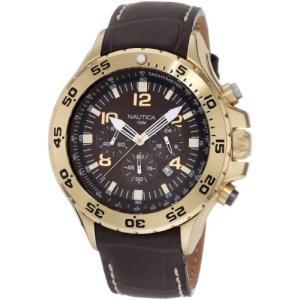 当店1年保証 ノーティカNautica Men's N18522G NST Gold-Tone Stainless Steel Watch|planetdream