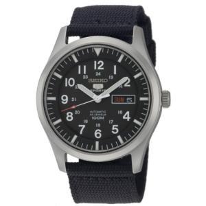 当店1年保証 セイコーSeiko Men's SNZG15 Seiko 5 Automatic Stainless Steel Watch with Nylon Strap planetdream