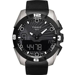 当店1年保証 ティソTissot Men's T091.420.46.061.00 'T Touch Expert' Black Dial Solar Tony Park Limited Edition Swiss Quar|planetdream