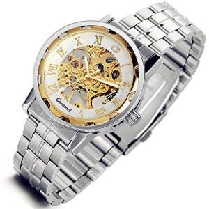 当店1年保証 スチームパンクLancardo Mens Women Boys Transparent Steampunk Skeleton Mechanical Wrist Watch|planetdream