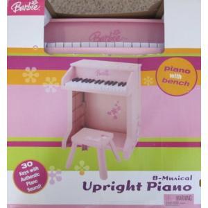 1/6ドールBARBIE B-Musical CHILD Size UPRIGHT PIANO with BENCH (2005)|planetdream