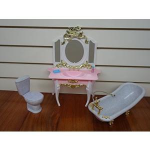 1/6ドールGloria Bathroom Play Set for Doll Furniture|planetdream