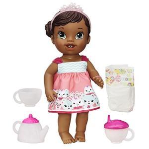 ベビーアライブBaby Alive Lil' Sips Baby Has a Tea Party Doll (African American)|planetdream