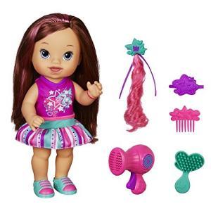 ベビーアライブBaby Alive Play 'n Style Christina Doll (Brunette)|planetdream