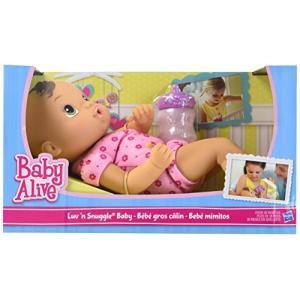 ベビーアライブBaby Alive Luv n Snuggle Baby Doll Brunette|planetdream