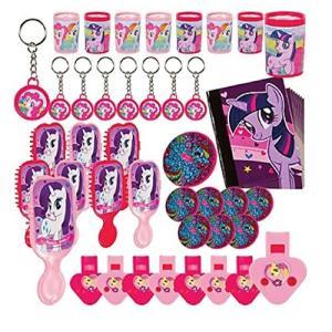 マイリトルポニーamscan My Little Pony 'Friendship is Magic' 48pc Favor Kit (1ct)|planetdream