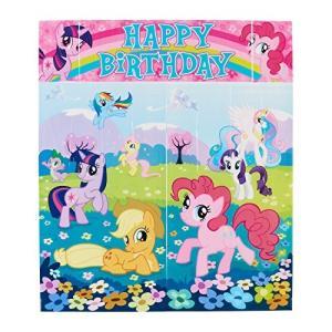 マイリトルポニーScene Setters Wall Decorating Kit | My Little Pony Friendship Collection | Birthday|planetdream